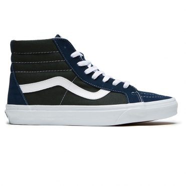 Vans Sk8-Hi Reissue Two Tone Shoe Dress Blues Scarab