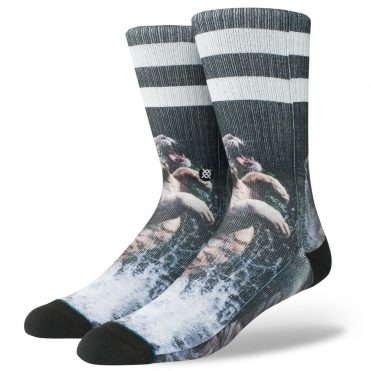 Stance Khan Sock Black