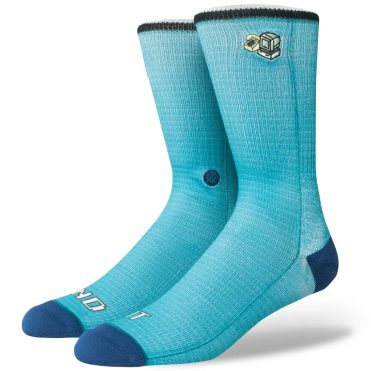 Stance Send It Sock Teal