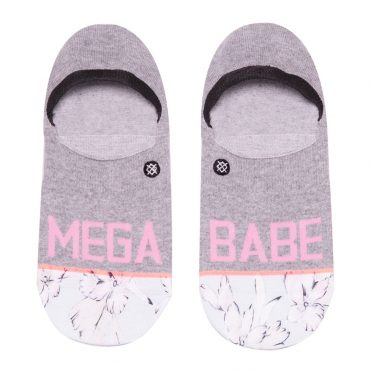 Stance Women's Mega Babe Invisible Sock Grey
