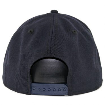 New Era 9Fifty San Diego Padres Cooperstown Friar Snapback Hat Dark Navy