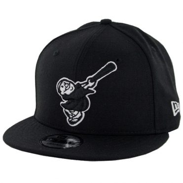 New Era 9Fifty San Diego Padres Cooperstown Friar Snapback Hat Black