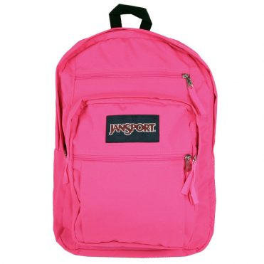 JanSport Big Student Back Pack Ultra Pink