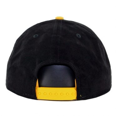 New Era 9Fifty Suede Pittsburgh Pirates Shift Snapback Hat Black