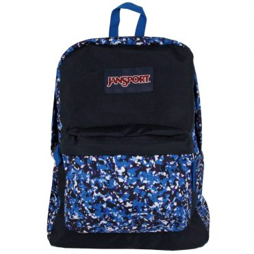 JanSport Superbreak Back Pack Splash Camo