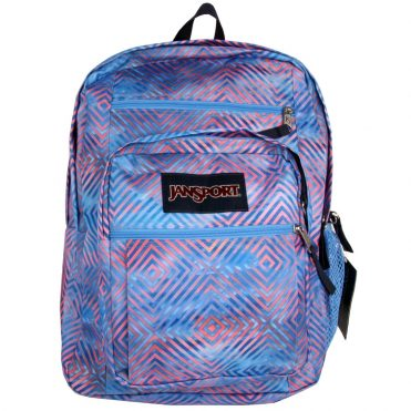 JanSport Big Student Back Pack Optical Clouds