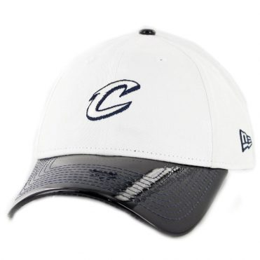 New Era 9Twenty Cleveland Cavaliers Retro Hook Strapback Hat White Navy