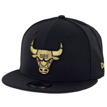 New Era 9Fifty Chicago Bulls Snapback Hat Black