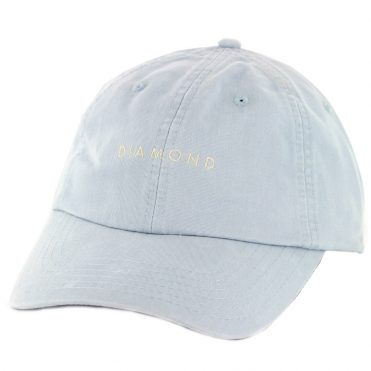 Diamond Supply Co Leeway Sports Strapback Hat Blue