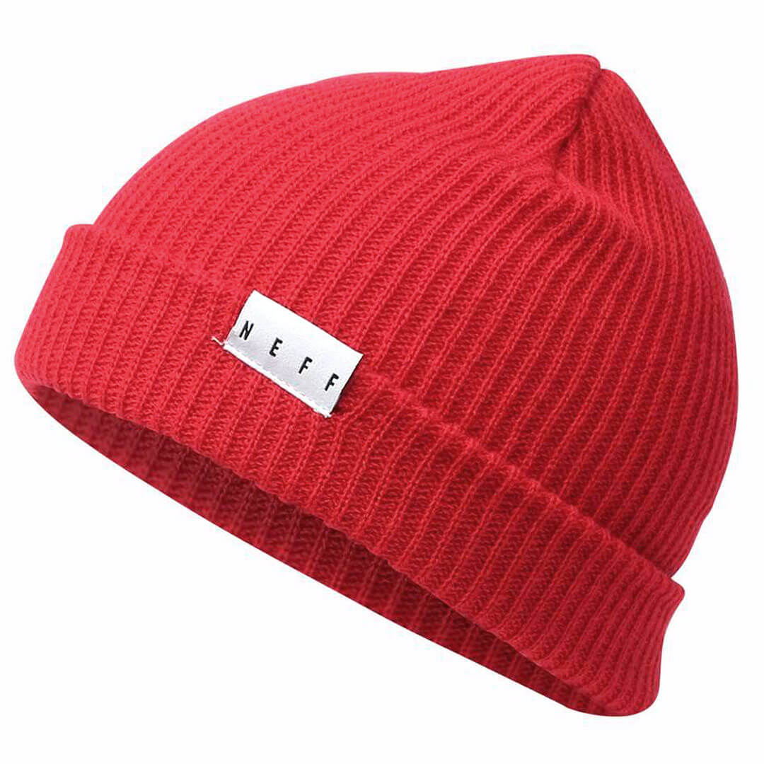 Neff Fold Red Beanie - Billion Creation Streetwear 34f66d4850e