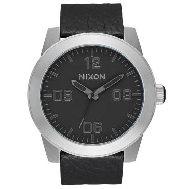Nixon Corporal Watch Black Gunmetal Black