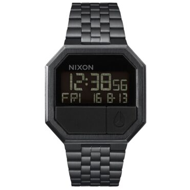 Nixon Rerun Watch Black