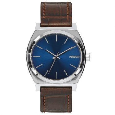 Nixon Time Teller Watch Brown Gator