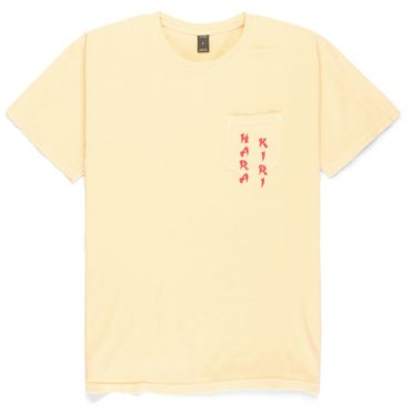 10 Deep Belly Full Of Laughs T-Shirt Yellow