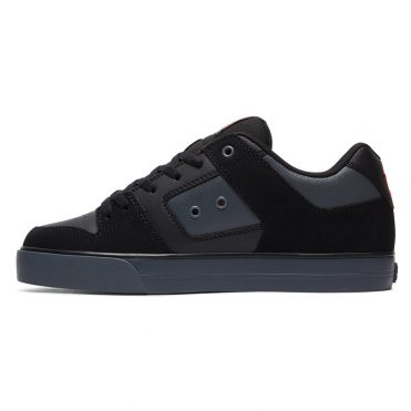 DC Shoes Pure SE Shoe Dark Shadow Red