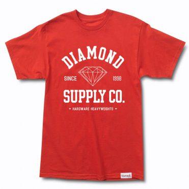 Diamond Supply Co Athletic T-Shirt Red