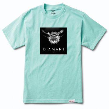 Diamond Supply Co Diamant Paris T-Shirt Diamond Blue