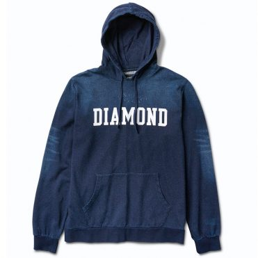 Diamond Supply Co Drexel Hooded Sweatshirt Indigo