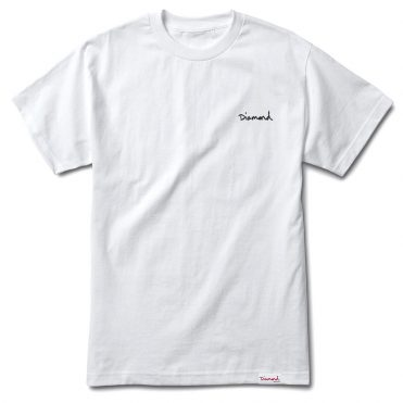 Diamond Supply Co Mini OG Script T-Shirt White
