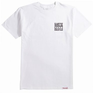 Diamond Supply Co Vortex T-Shirt White