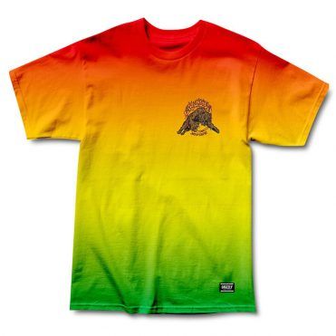 Grizzly Blazing Trails T-Shirt Rasta Tye Die
