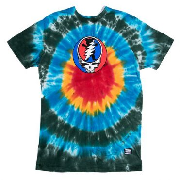 Grizzly x Grateful Dead T-Shirt Tie Dye