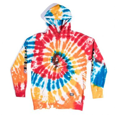 Grizzly x Grateful Dead Have A Nice Trip Hooded Sweatshirt Tie Dye
