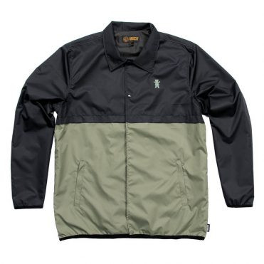 Grizzly Night Trail Coaches Jacket Black