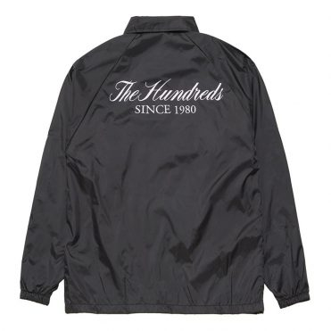 The Hundreds Rich Coaches Jacket Black