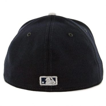 New Era 59Fifty New York Yankees Heather Fresh Fitted Hat Navy Heather Grey