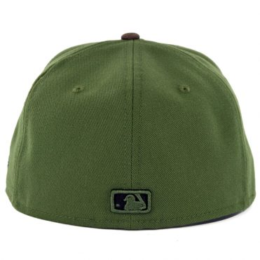 New Era 59Fifty Los Angeles Dodgers Fitted Hat Rifle Green Woodland Camo