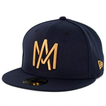 New Era 59Fifty Mexicali Aguilas Campeon Fitted Hat Dark Navy Gold
