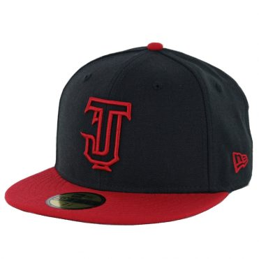 New Era 59Fifty Tijuana Toros Outline Fitted Hat Black Scarlet