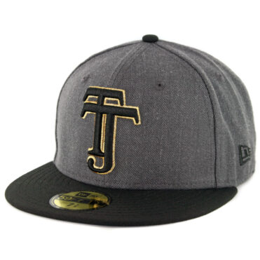 New Era 59Fifty Tijuana Xolos Fitted Hat Heather Graphite Black Gold
