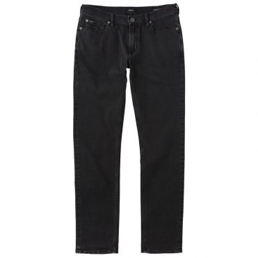RVCA Daggers Denim Jeans Worn Black