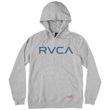 RVCA Shade Big RVCA Hooded Sweatshirt Athletic Heather Mid