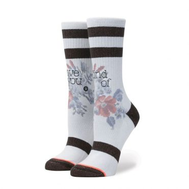Stance Women's Maybe Baby Sock White