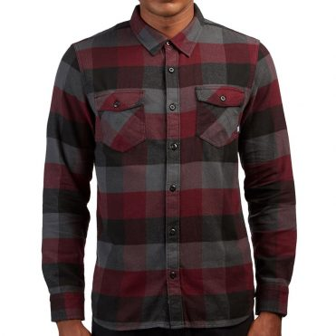 Vans Box Flannel Shirt Port Royale Asphalt