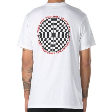 Vans Checkered T-Shirt White