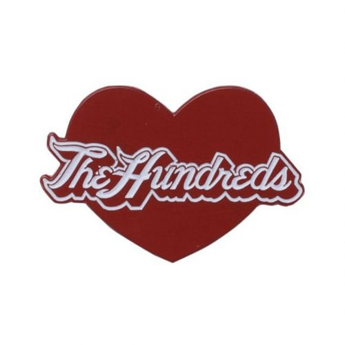 The Hundreds Love Pin Red