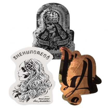 The Hundreds x Usugrow Sticker Pack