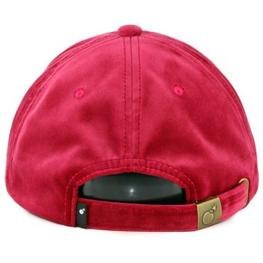 The Hundreds Steelo Dad Strapback Hat Red