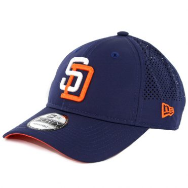 New Era 9Forty San Diego Padres Performance Pivot Two Strapback Hat Navy