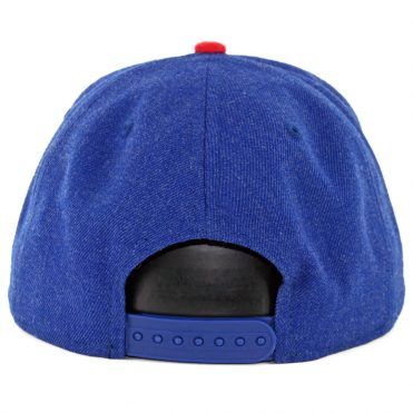 New Era 9Fifty Chicago Cubs Heather Hype Snapback Hat Heather Royal Blue