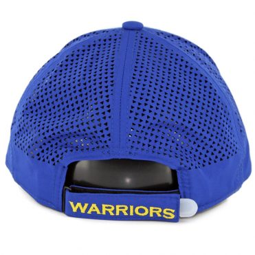 New Era 9Forty Golden State Warriors Performance Pivot Two Strapback Hat Royal Blue