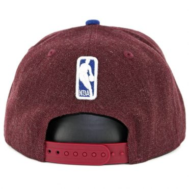 New Era 9Fifty Cleveland Cavaliers Heather Hype Snapback Hat Heather Burgundy
