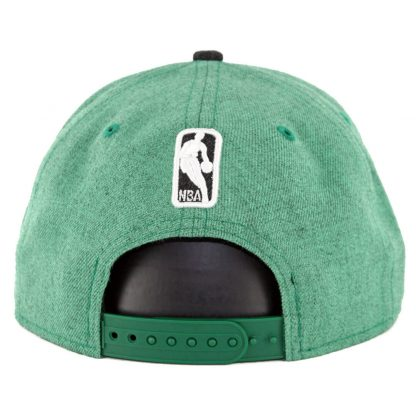 New Era 9Fifty Boston Celtics Heather Hype Snapback Hat Heather Kelly Green