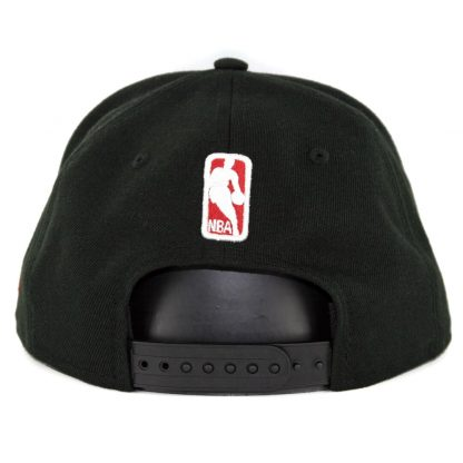 New Era 9Fifty Chicago Bulls Squad Twist Snapback Hat Black