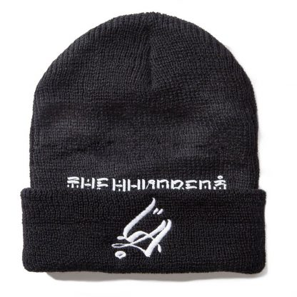 The Hundreds x Usugrow LA Beanie Black