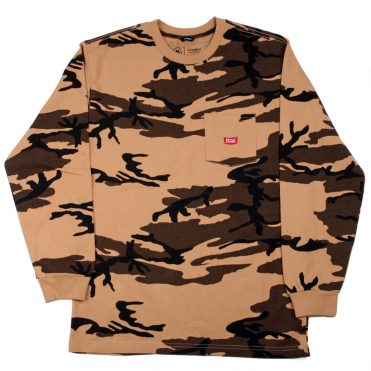 Brixton Stith WL Long Sleeve Pocket T-Shirt Camo